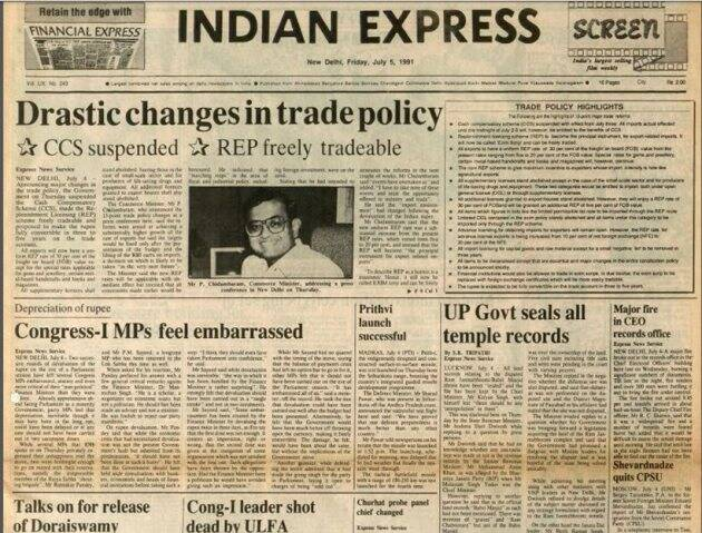 Tracing 25 years of Economic Reforms in India through