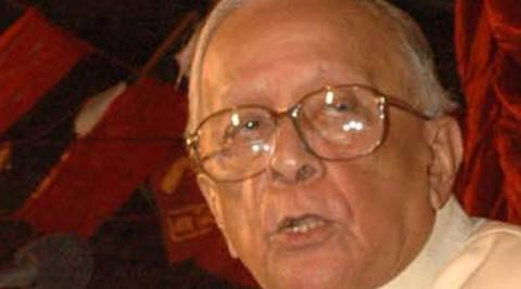 Jyoti Basu, former Chief Minister of West Bengal. Express File Photo Subham Dutta.