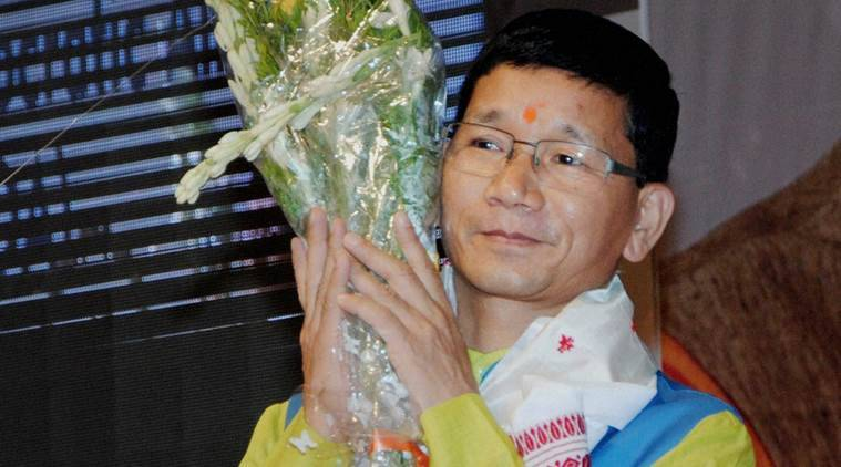 Nabam Tuki resumes duty as Arunachal CM