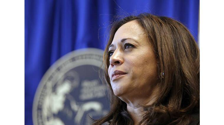 US presidential elections, USA elections 2016, Kamala harris, US senate, US senate seat, California, black woman, history, world news, indian express