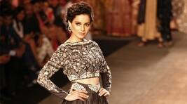 Kangana Ranaut's Sari Look Reminds Us Of Indira Gandhi
