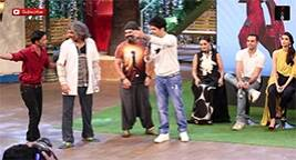 Funny Moments On Kapil Sharma Show During Happy Bhaag JayegiPromotion
