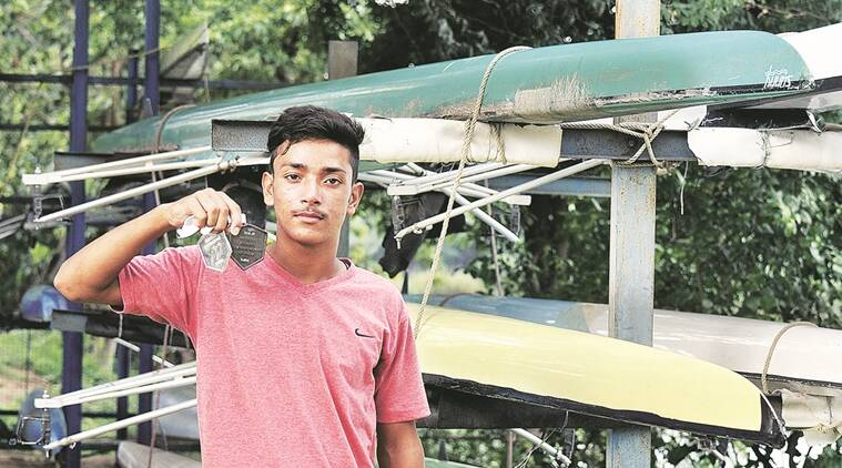 Rowing, Rowing in Punjab, Karam Chand, Chandigarh boy wins silver in rowing, Sports news, India sports, India news, latest news