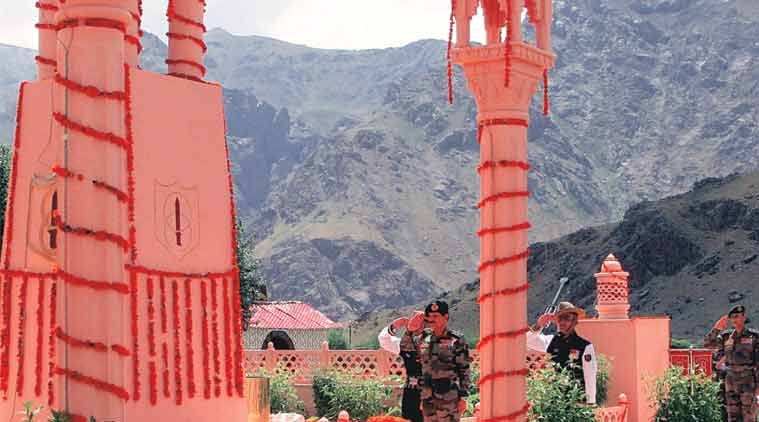 kargil, kargil war, 17th Kargil Vijay Diwas, Kargil Vijay Diwas, Ministry of Defence, Srinath Raghavan Kargil history, Kargil Indian army, India Pakistan Kargil war, Kashmir conflict, 1965 India-Pakistan war, 1971 Bangladesh war, india news