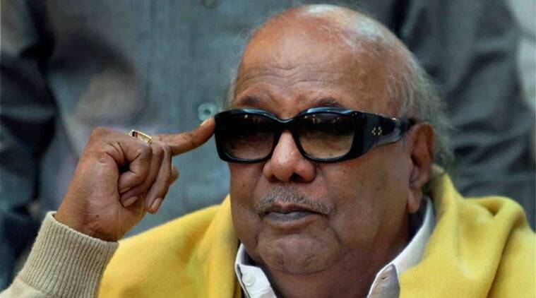 Cauvery issue, Karunanidhi, M Karunanidhi, BJP, DMK, Cauvery management board, India news, Indian express news