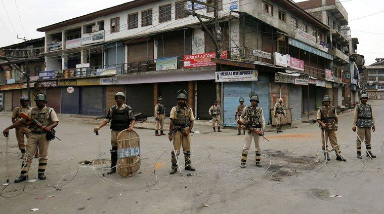 Jammu Kashmir curfew, Kashmir curfew, Kashmir Valley curfew, Burham Wani killing, militant killed Kashmir, Burham Wani Kashmir killing, news, national news, India news, latest news, Kashmir news, Kashmir mobile, Kashmir network, mobile internet Kashmir