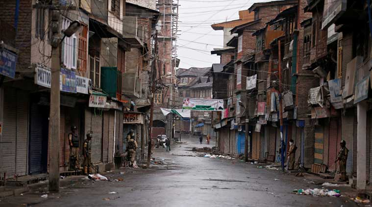 Centre review situation in Jammu & Kashmir