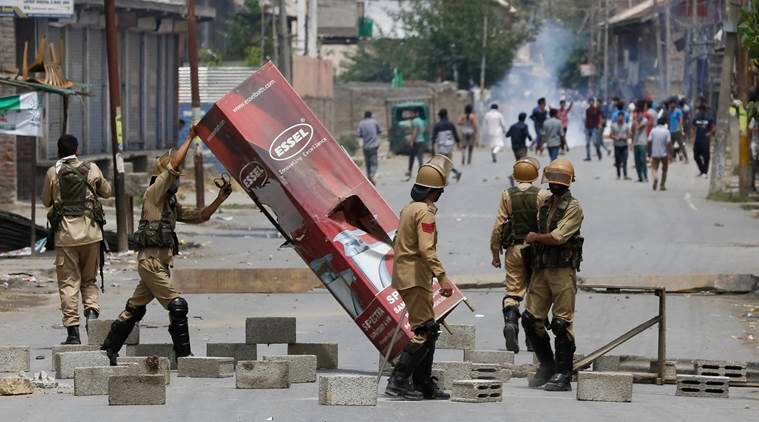 Kashmir unrest: Curfew clamped ahead of Friday prayers | India News