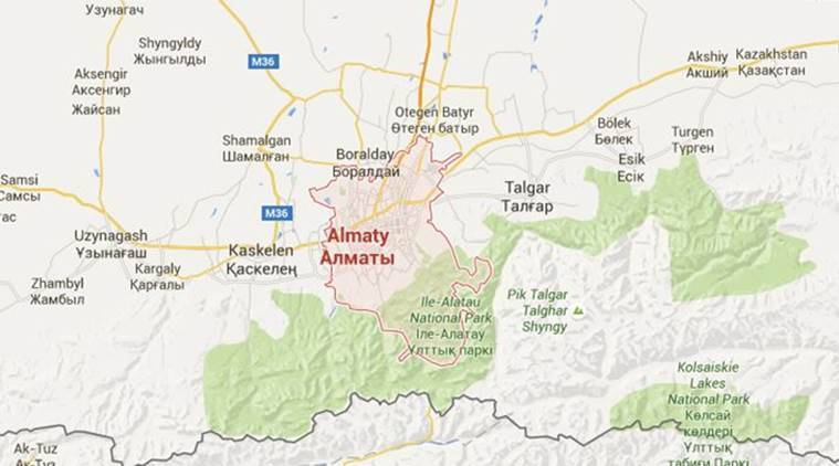 Shooting Heard Near Police Station In Kazakh City Of Almaty