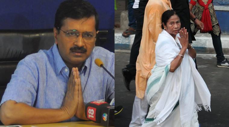 arvind kejriwal, mamata banerjee, demonetisation, 500 note ban, 1000 note ban, curreny ban, modi, narendra modi, indian express, india news, latest news