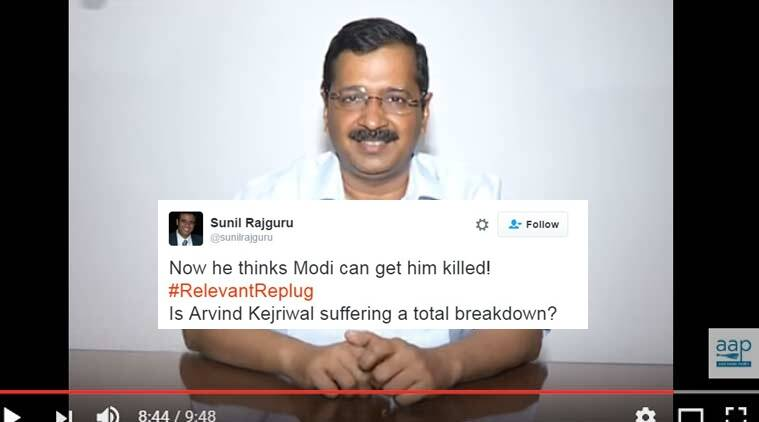 Modi follows people who give death threats to Kejriwal: AAP