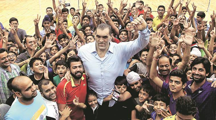 Khali, punjab, drugs, drug menace, drug menace in punjab, punjab drug menace, the great khali, wwe, wwe champion