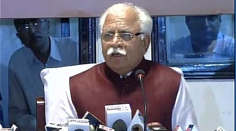 Swaprerit Aadarsh Gram Yojana , Beti Bachao Beti Padhao, Swachhta Abhiyan, Manohar Lal Khattar, Haryana Government, Haryana CM, Hisar, Haryana development, indian express news
