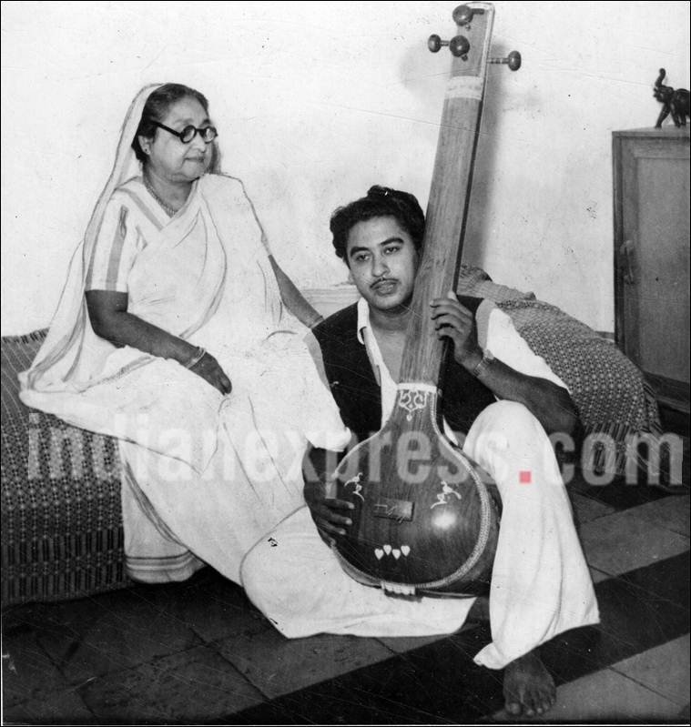Kishore Kumar, Kishore Kumar mother
