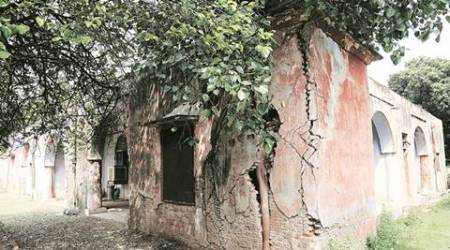 Panchkula: Remove the weeds to see thismonument