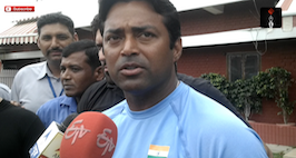Leander Paes Speaking About The Davis Cup Win And Rio Olympics