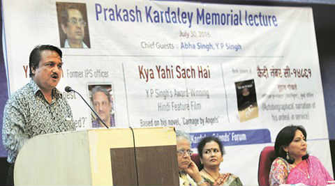 aam aadmi party, aap, corruption, anti corruption, Prakash Kardaley Memorial Lecture, pune news, india news