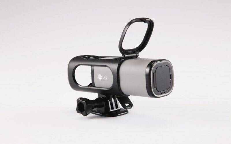 Lg action cam lte streaming ready action camera goes on for Camera streaming live