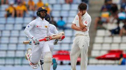 Sri Lanka vs Australia Live: 1st Test Day 4