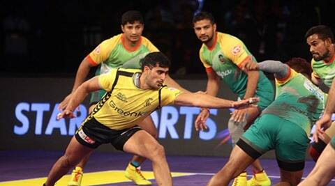 Pro Kabaddi Season 4, Pro Kabaddi Season 4 live video, Pro Kabaddi Season 4 live score, Kabaddi live score, kabaddi live streaming, Patna Pirates vs Telugu Titans, Sports
