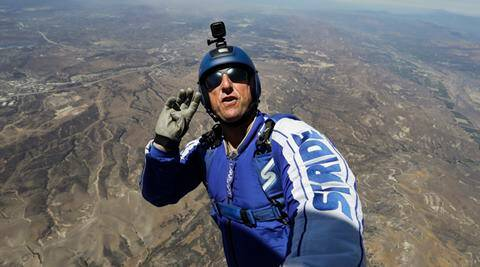 heaven sent, luke aikins, skydiver luke aikins, heaven sent jump, daredevil skydiver luke aikins, world news