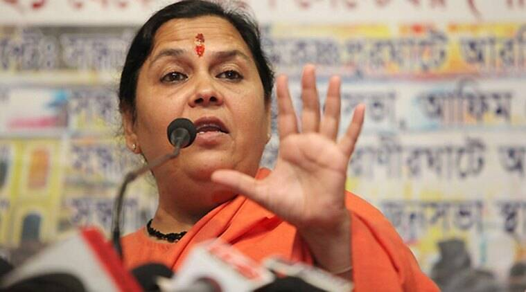 uma bharti, uttar pradesh elections, up elections, up elections 2017, pm modi, modi, narendra modi, up bjp, uma bharti up, uma bharti modi, modi up, india news, indian express news