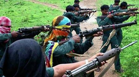 Woman Maoist killed, two SOG jawans injured