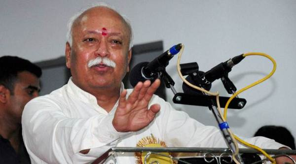 Mohan Bhagwat, RSS, chai pe charcha, rss columnists, intellectual meet, chai pe charcha in kanpur, indian express news, india news, latest news