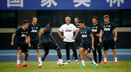 Football Soccer - Manchester United training - International Champions Cup China