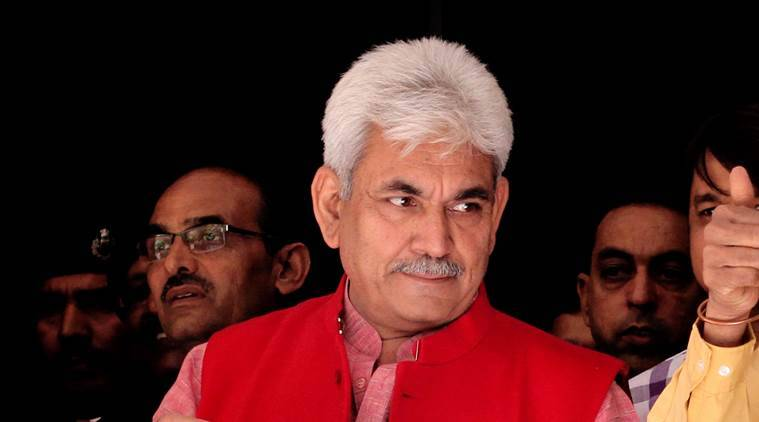 manoj sinha, railway minister manoj sinha, manoj sinha accident, union minister accident, manoj sinha injured, minister of state manoj sinha
