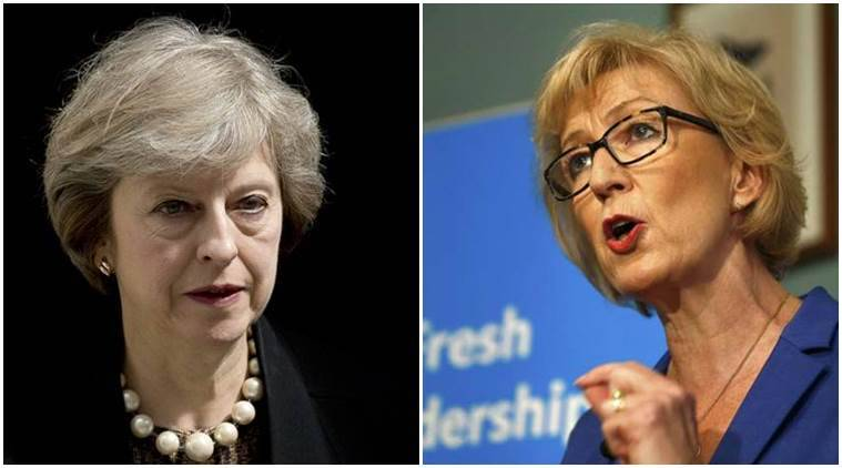 Andrea Leadsom and Theresa May win Tory MPs' vote on leadership