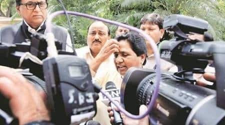mayawati, dayashankar singh, mayawati prostitute comment, bjp, sp, uttar pradesh elections 2017, bjp helping dayashankar singh, indian express news