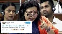 BJP MP Meenakshi Lekhi just called someone an 'idiot' on Twitter and has become a talking point