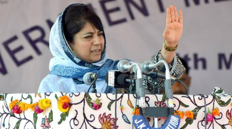 mehbooba mufti, cm mehbooba mufti, burhan wani encounter, burhan wani death, kashmir unrest, jammu and kashmir chief minister