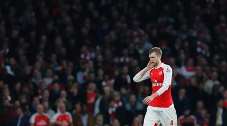 Per Mertesacker, Per Mertesacker Arsenal, Per Mertesacker Arsenal injury, Arsene Wenger, Arsenal Arsene Wenger, Wenger Arsenal, Football