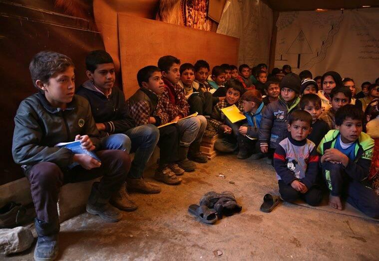 Syria, Lebanon, Syrian refugees in lebanon, hostility towards syrian refugees, syrian refugees under hostility, World news, Syria news, Indian Express news