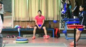 Weightlifter Mirabai Chanu sleepless in Patiala