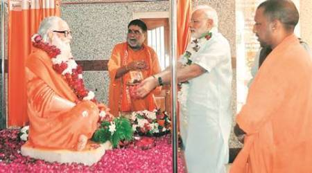 Sants at Gorakhnath Temple meet PM with a political wish: 'make Adityanath CM face for 2017'