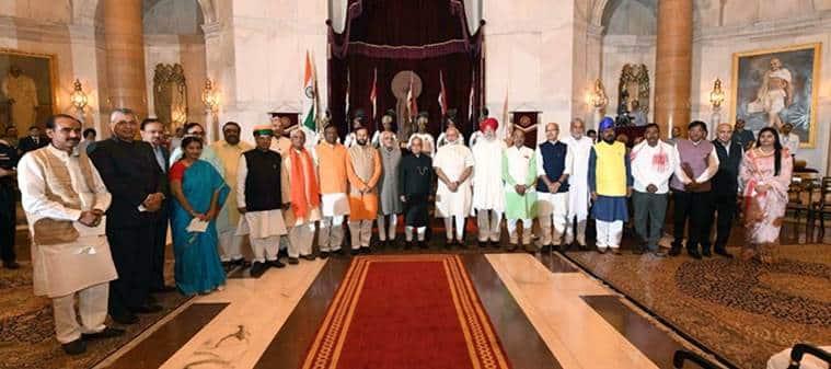 modi cabinet reshuffle, narendra modi, new ministers in cabinet, new union ministers, india news