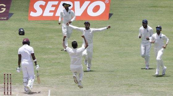 Mohammed Shami makes his own luck