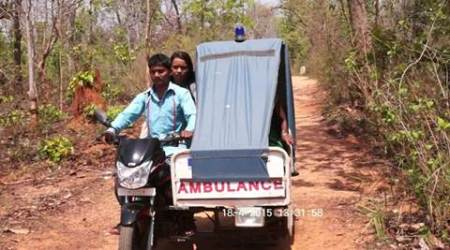 motorcycle ambulance, ambulance, health, hospital help, villages hospital, latest news