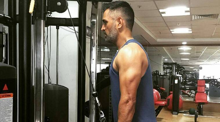 MS Dhoni, MS Dhoni workout, MS Dhoni exercise, MS Dhoni India, India MS Dhoni, sports news, sports, cricket news, Cricket