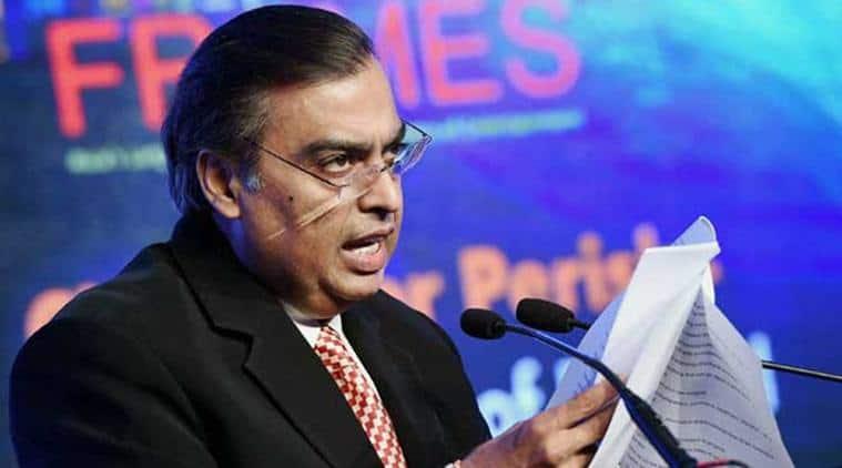Reliance Industries Chairman Mukesh Ambani.