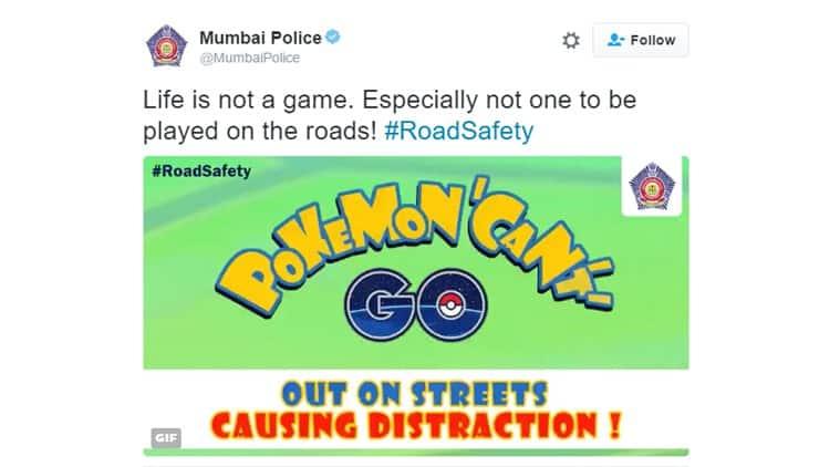 mumbai, mumbai police, pokemon go, pokemon go in india, pokemon go mumbai police, pokemon go game, mumbai police, twitter reactions