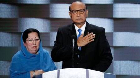 Father of fallen Muslim soldier blasts Donald Trump at Democratic convention