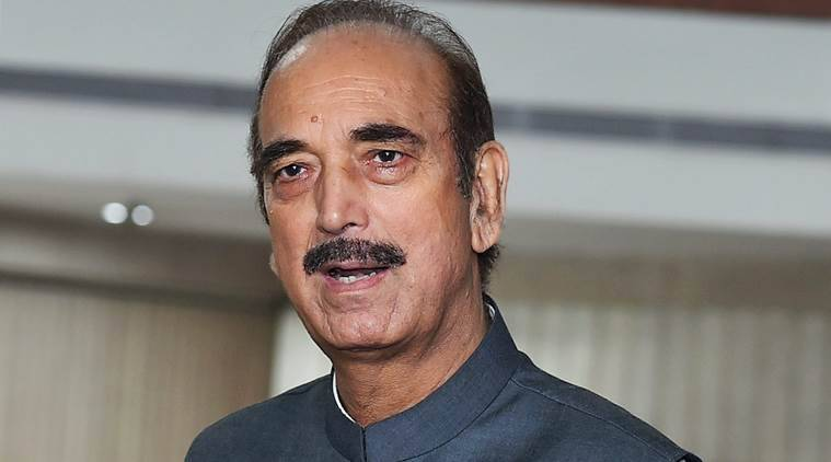 Kashmir, former CM, former chief minister, Ghulam Nabi Azad, Azad, Narendra Modi, Modi, Modi government, Modi govt, no policy, Modi govt policy, Indus Water treaty, kashmir unrest, india news, indian express