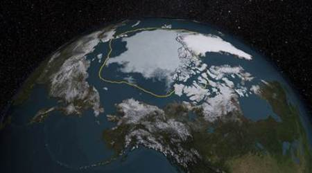 Climate Change, arctic climate change, severe winters, winters in UK and US, UK climate, US climate, global warming, world news, latest news, indian express