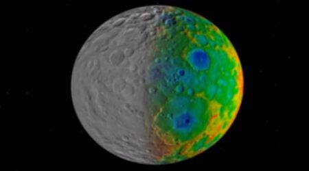 NASA's Dawn discovers huge craters missing from dwarf planet Ceres