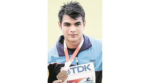 rio olympics, IAAF, IAAF World U-20 Championships, Panchkula Athletics Nursery, Neeraj Chopra, javelin throw, gold in javelin throw, indian express sports, sports news, india news