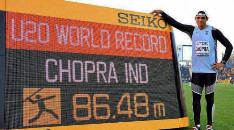 Neeraj Chopra, Neeraj Chopra India record, Neeraj Chopra World Record, Neeraj Chopra India world record, Neeraj Chopra Rio Olympics, Rio 2016 Olympics, Sports